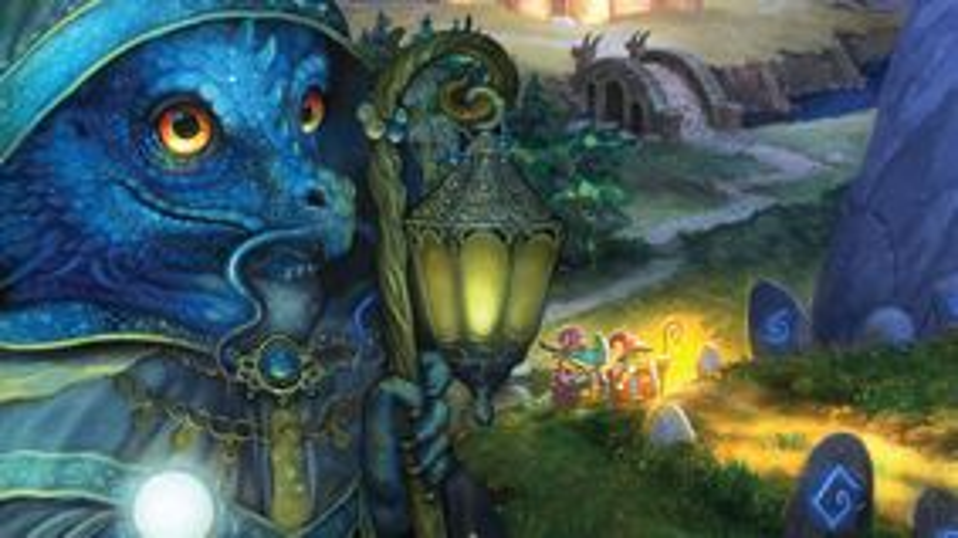 Lizard Wizard board game artwork