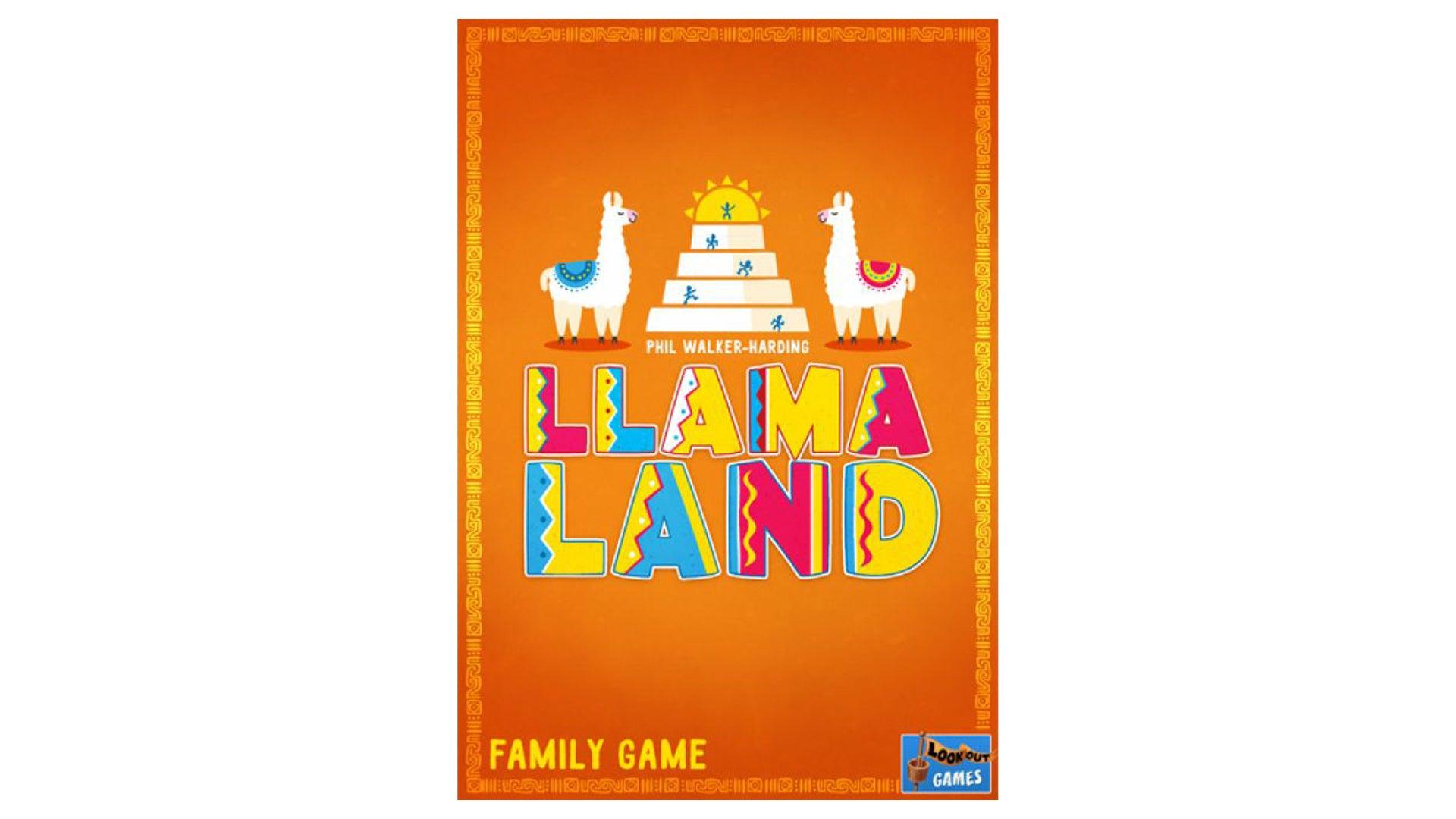 Llama board game artwork