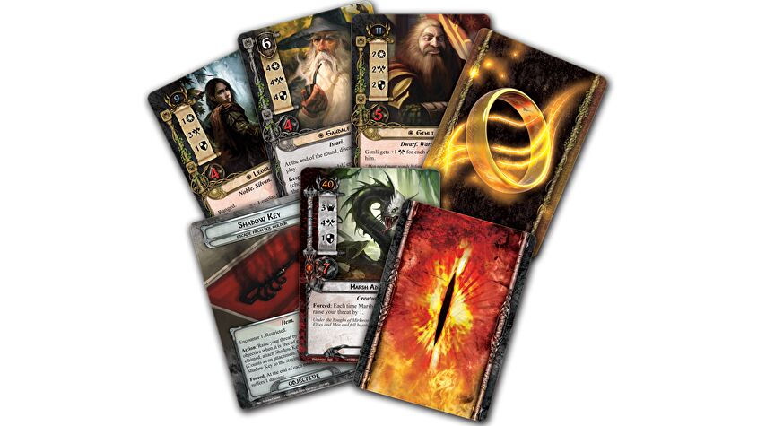 Lord of the Rings: The Card Game cards 2