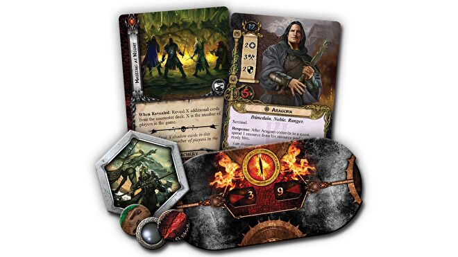 Lord of the Rings: The Card Game cards