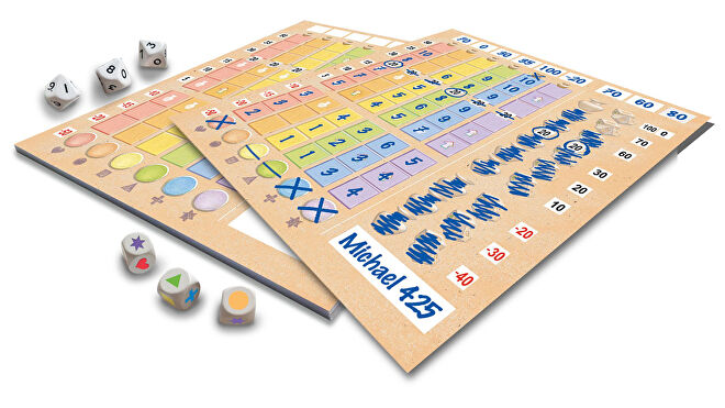 Lost Cities: Roll & Write layout