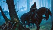 Lord of the Rings: The Card Game wraith hiding artwork
