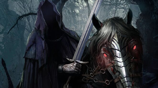 Lord of the Rings: The Card Game Wraith artwork