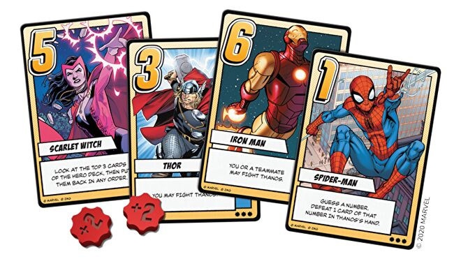 Love Letter: Infinity Gauntlet cards