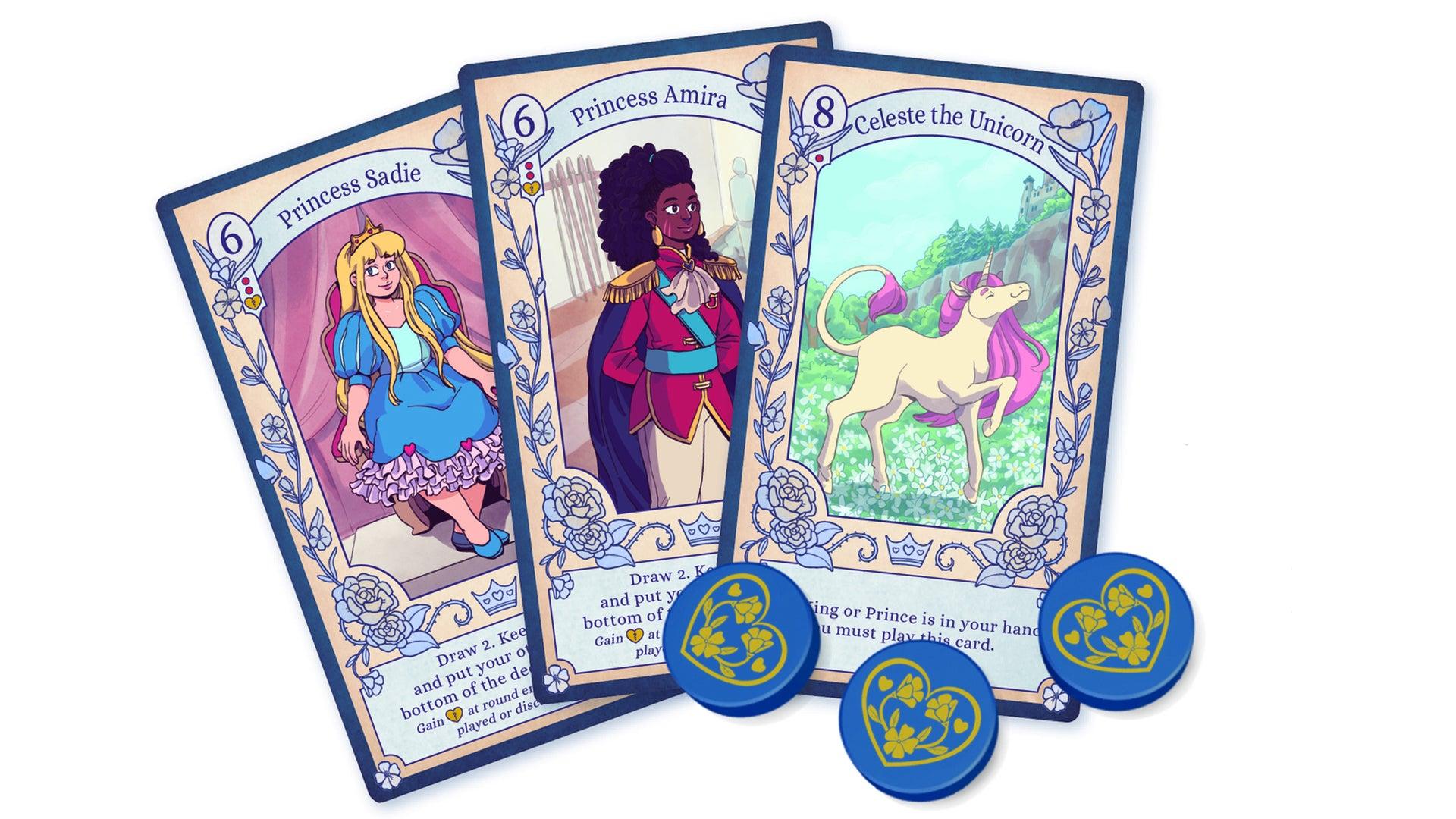 Love Letter: Princess Princess cards