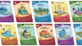 Image for Machi Koro 2 will release in October, rezones rules for the popular city building board game