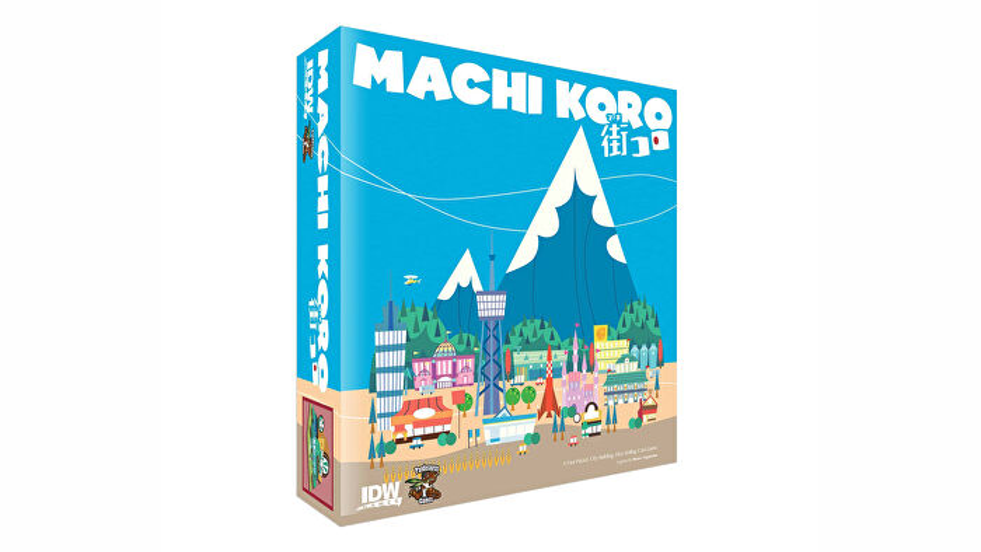 Machi Koro board game box