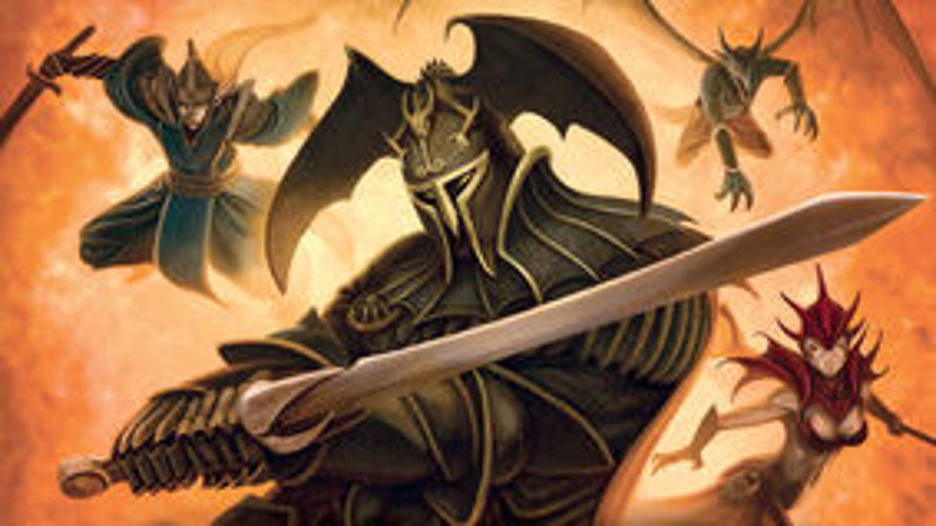 Mage Knight board game artwork