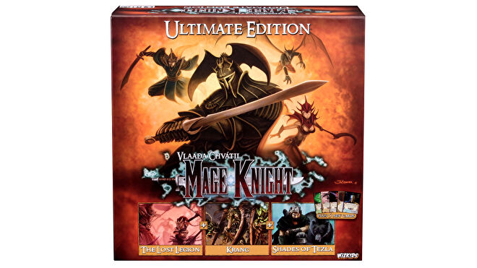 Mage Knight: Ultimate Edition board game box