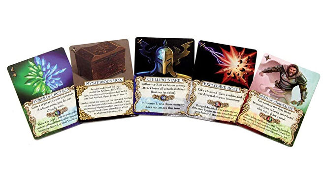 Mage Knight: Ultimate Edition cards