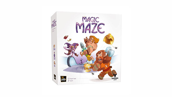 Magic Maze best family board games