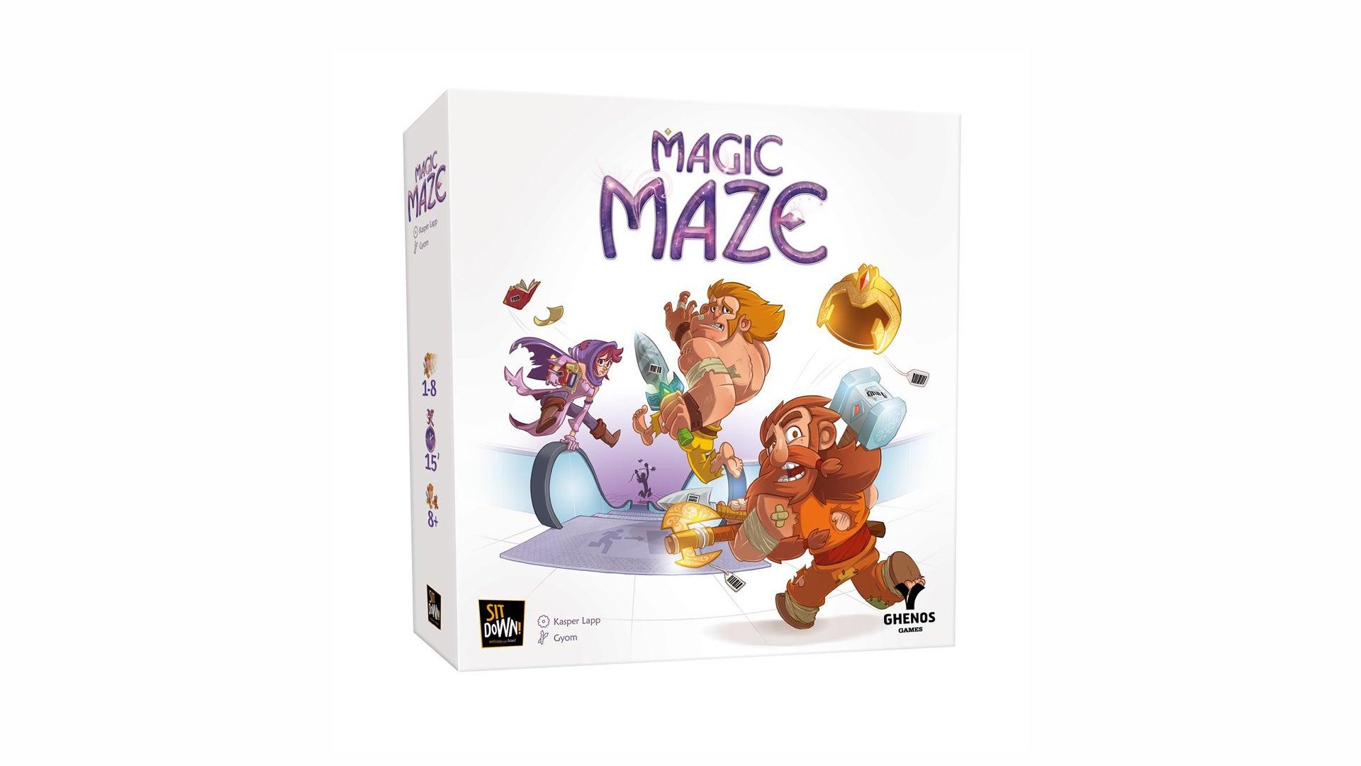 Magic Maze board game box