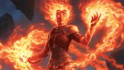 Magic: The Gathering planeswalker Chandra Nalaar