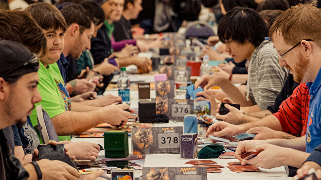 Magic: The Gathering Magic World Cup players