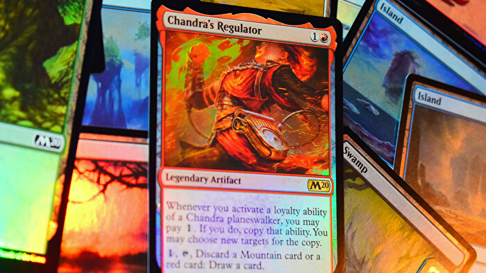 Magic: The Gathering trading card game holographic cards