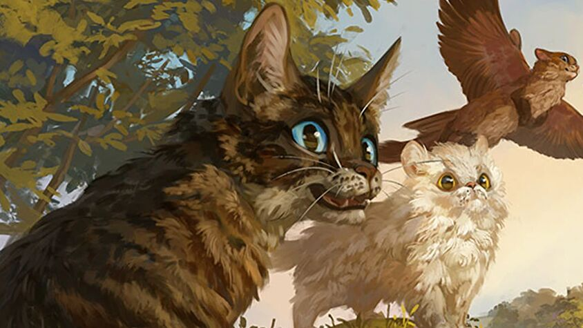 Magical Kitties Save the Day artwork 2
