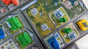 Image for Magnate: The First City is a metro-building board game striving for realism and interactivity