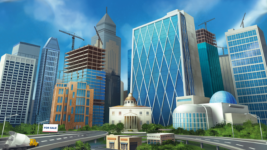 Relive the fun of today's doomed property market in 3D city