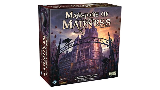Mansions of Madness: Second Edition horror board game box