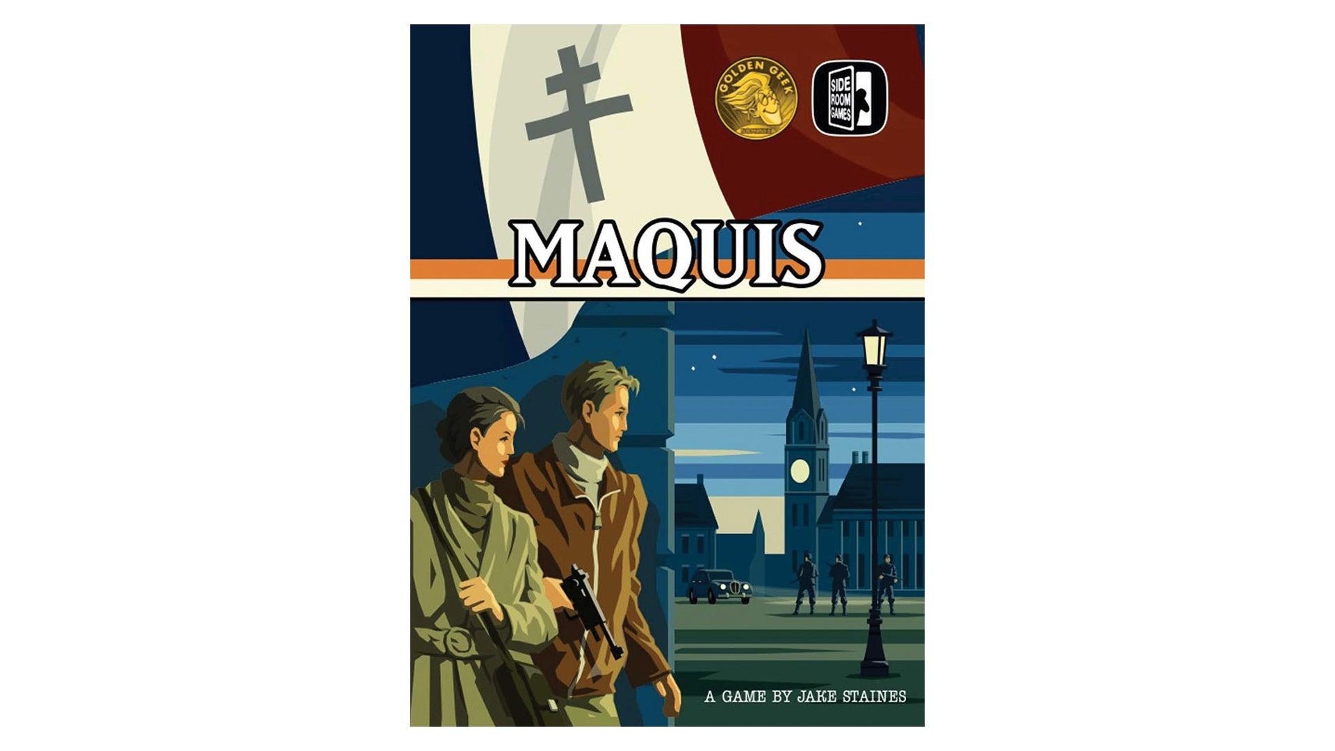 Maquis board game box