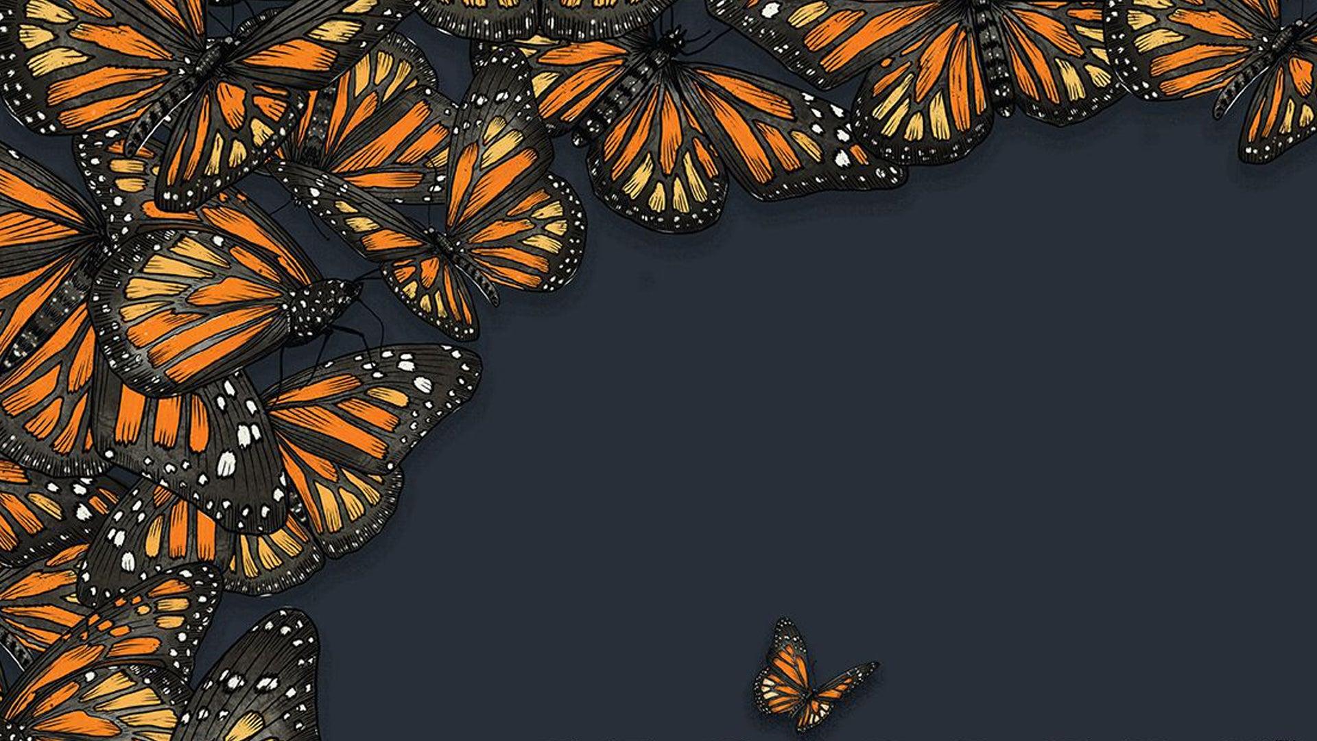 Mariposas board game artwork