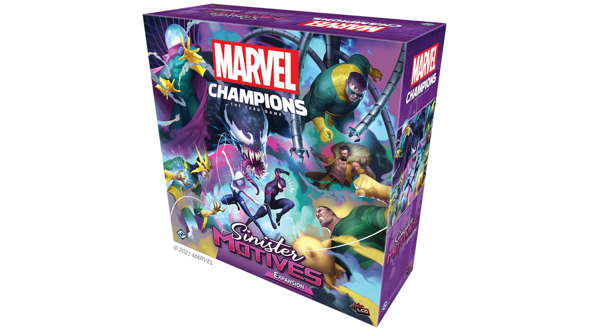 Marvel Champions: The Card Game Sinister Motives