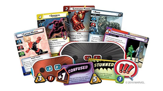 Marvel Champions: The Card Game layout
