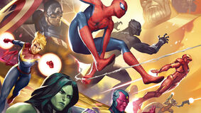 Marvel Champions: The Card Game living card game artwork
