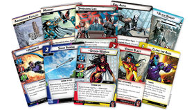 Marvel Champions: The Card Game living card game The Rise of the Red Skull card fan