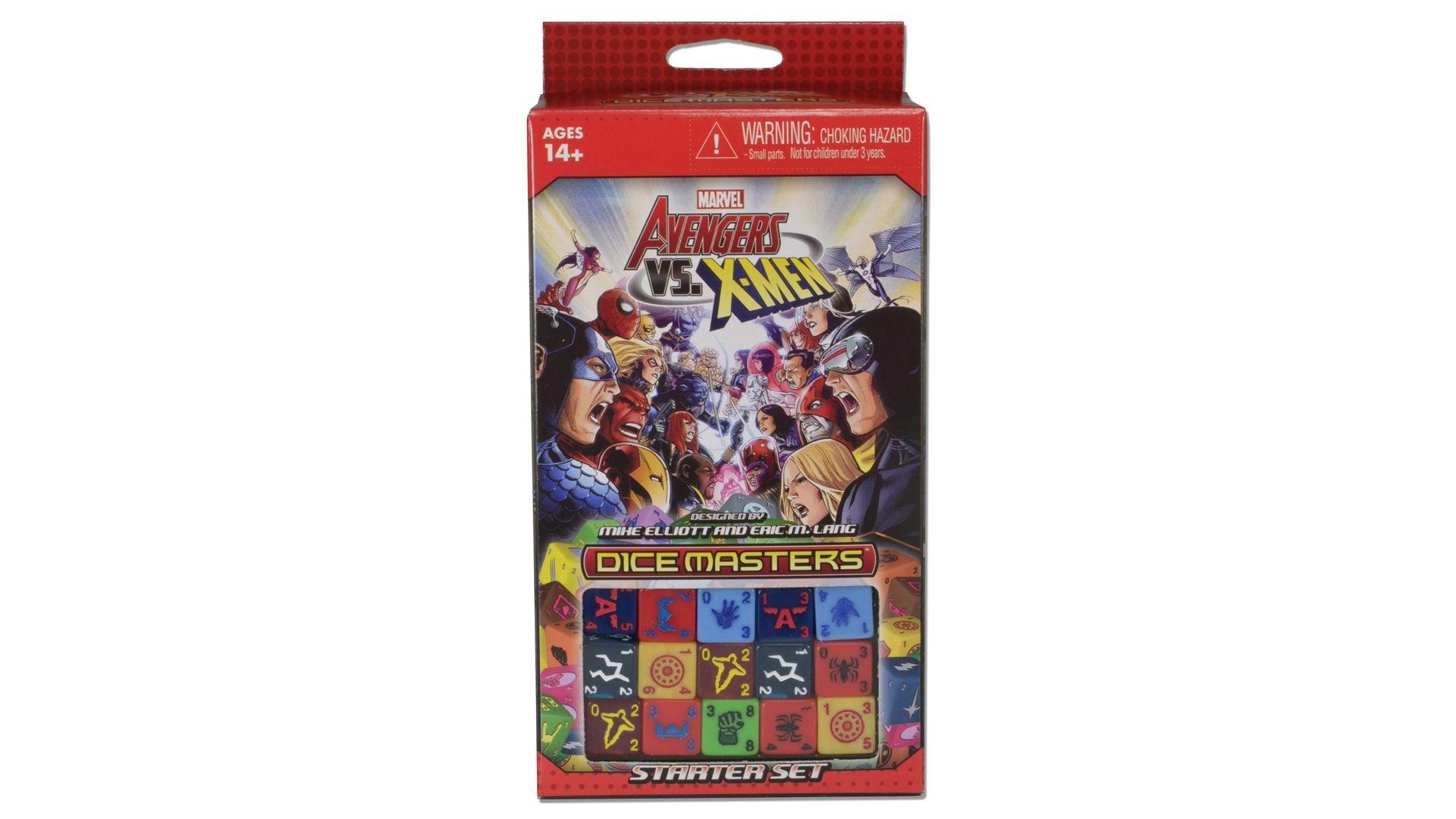 Marvel Dice Masters: X-Men vs The Avengers box
