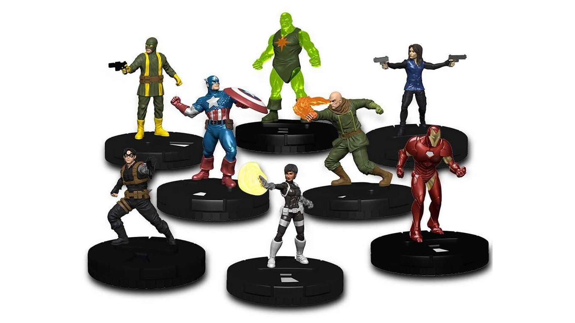 Marvel Strike Teams figures
