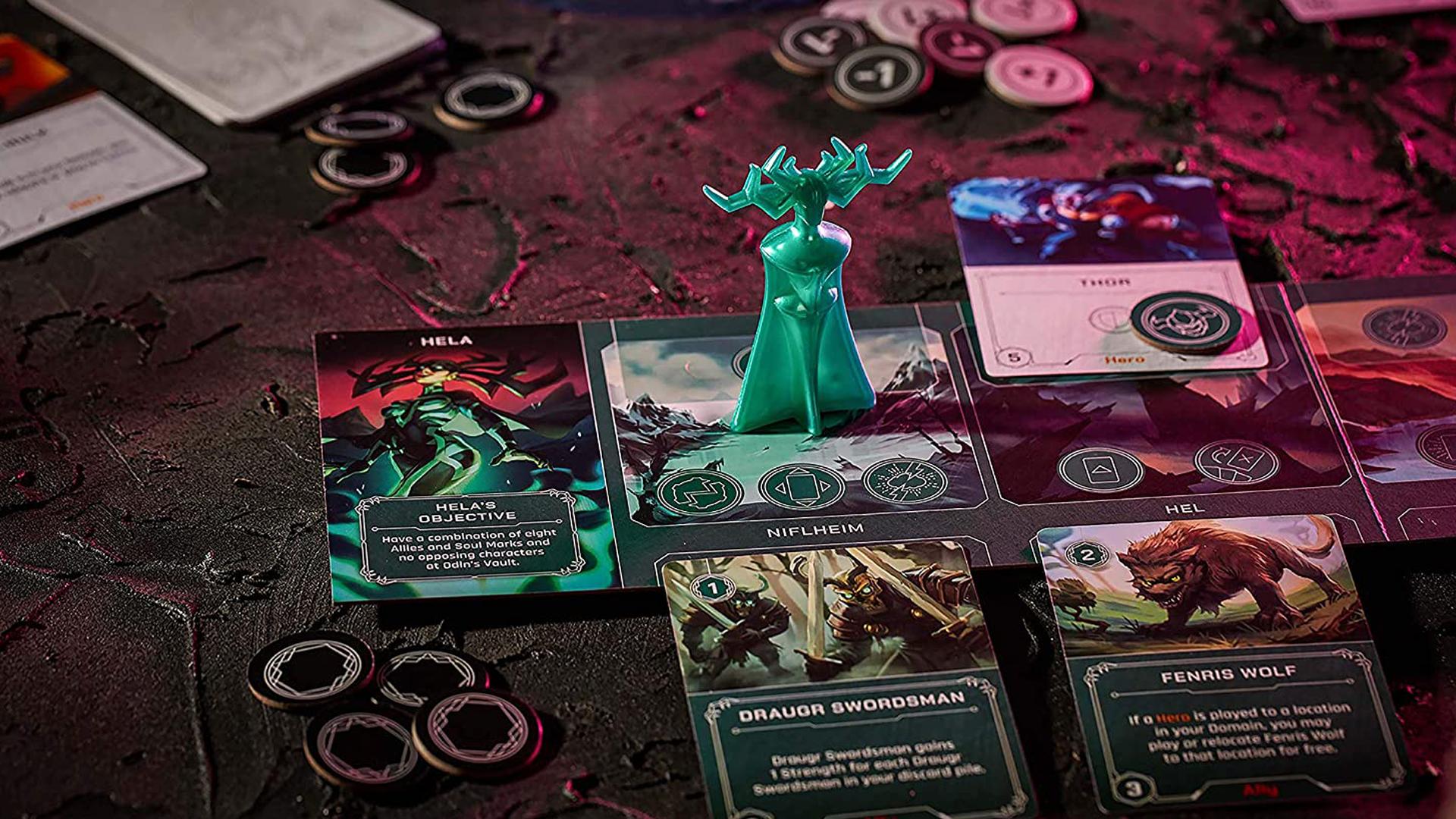 Marvel Villainous: Infinite Power layout