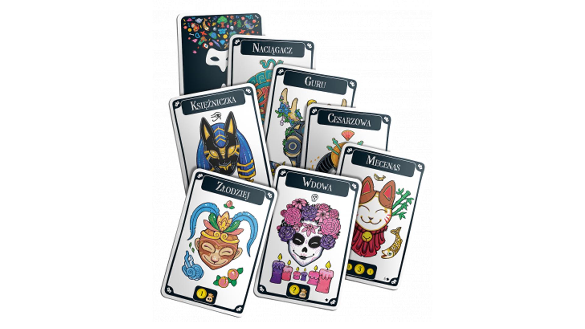 Mascarade new edition cards