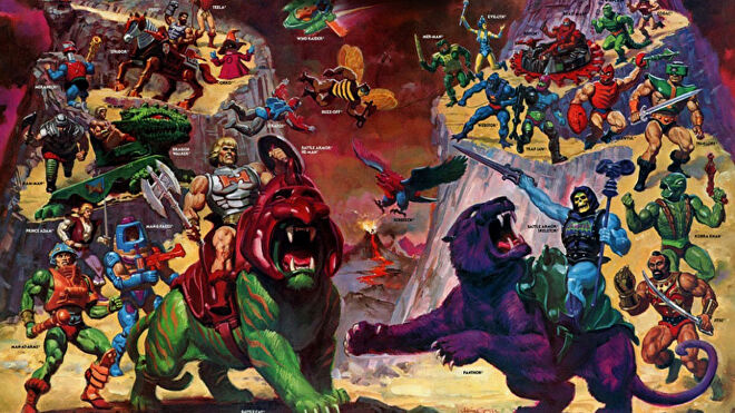 Masters of the Universe: The Board Game artwork