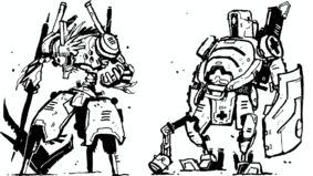 Image for Lightweight mecha RPG The Mecha Hack is releasing a new book of missions