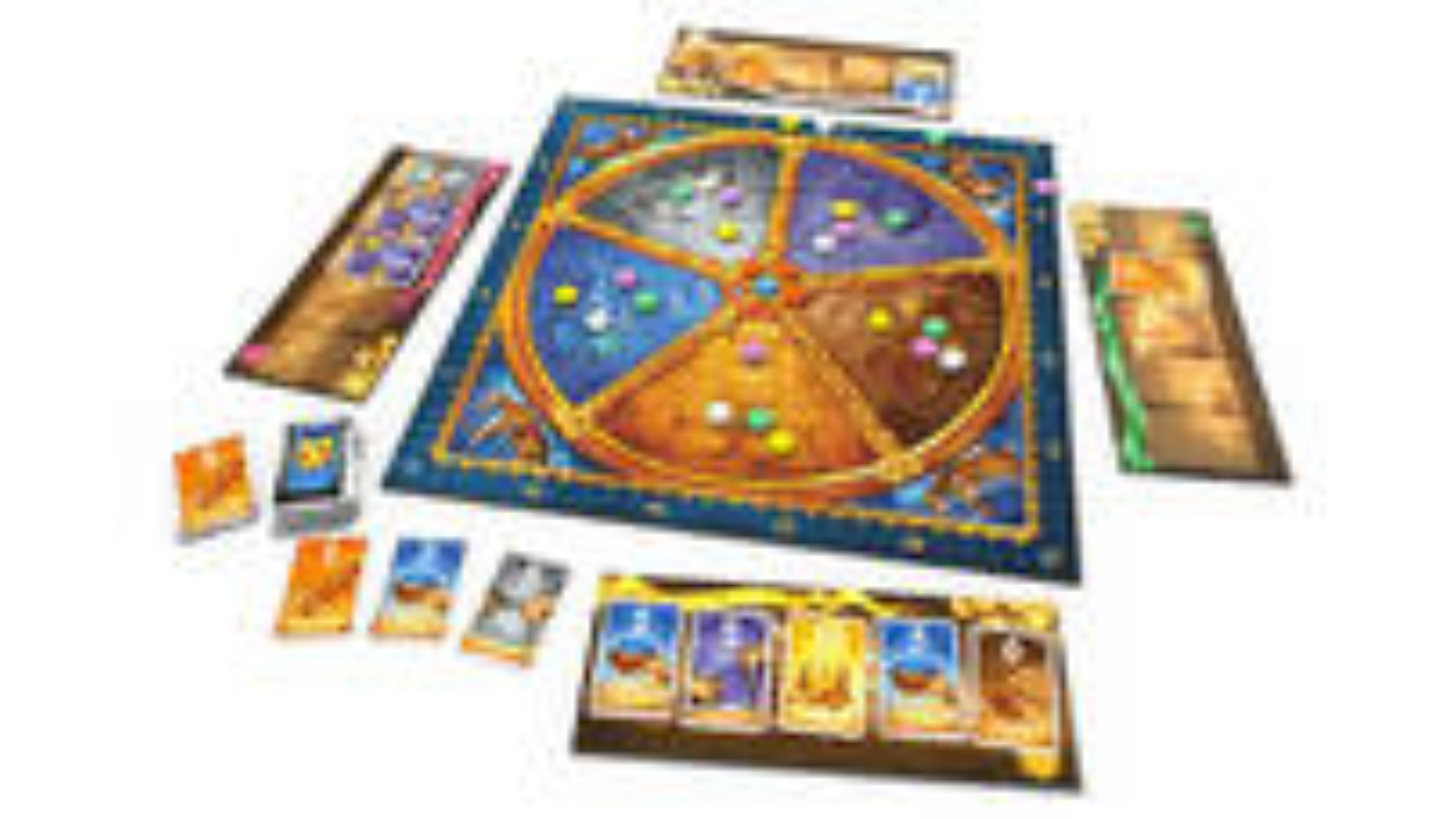 Medici board game layout