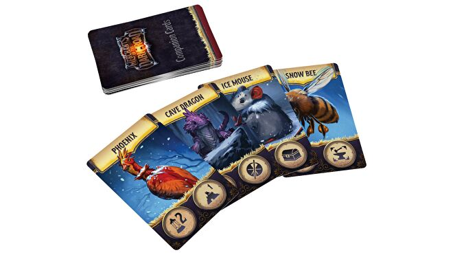 Merchant of the Dark Road board game cards