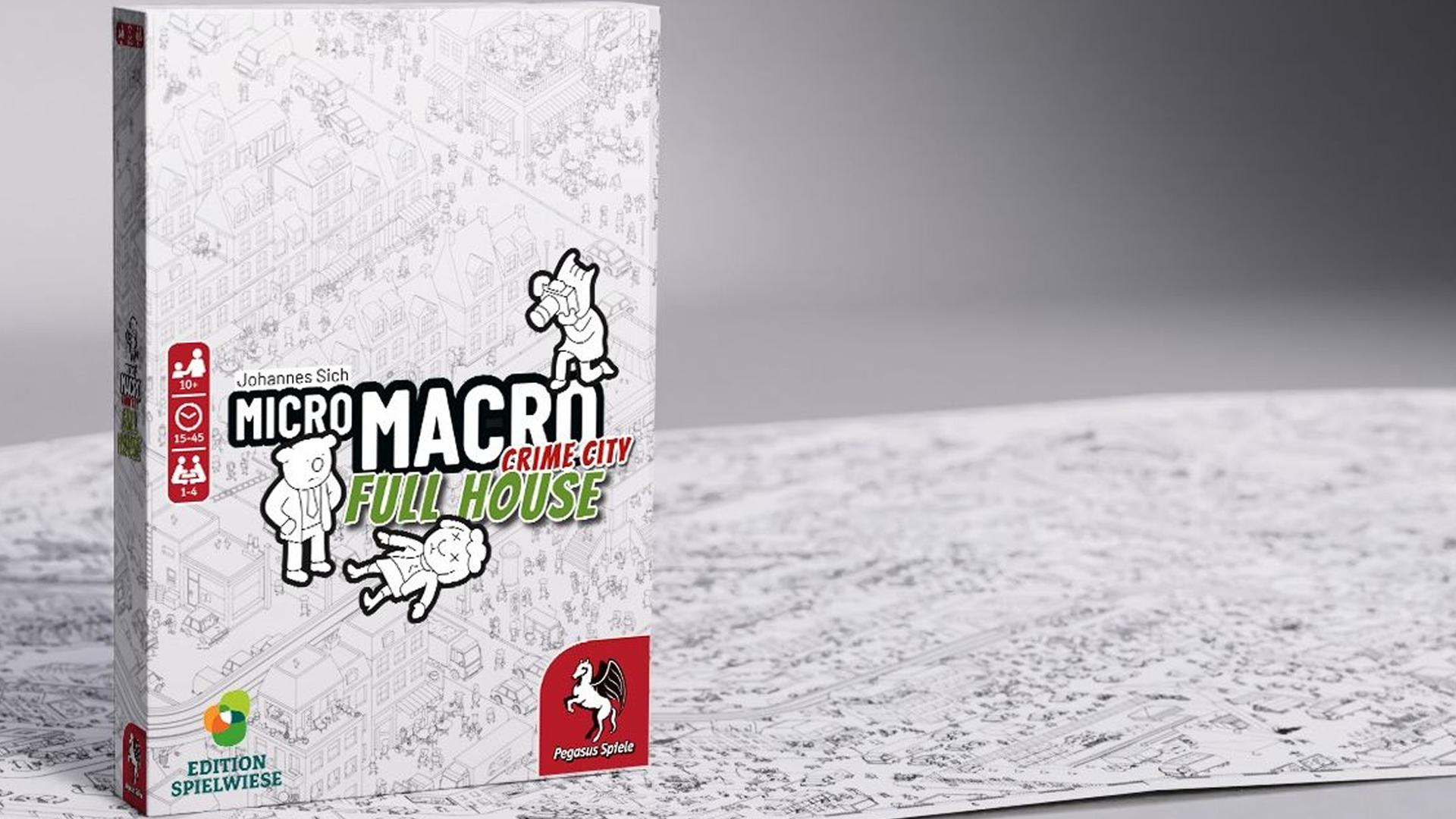 Micro Macro: Crime City - Full House box