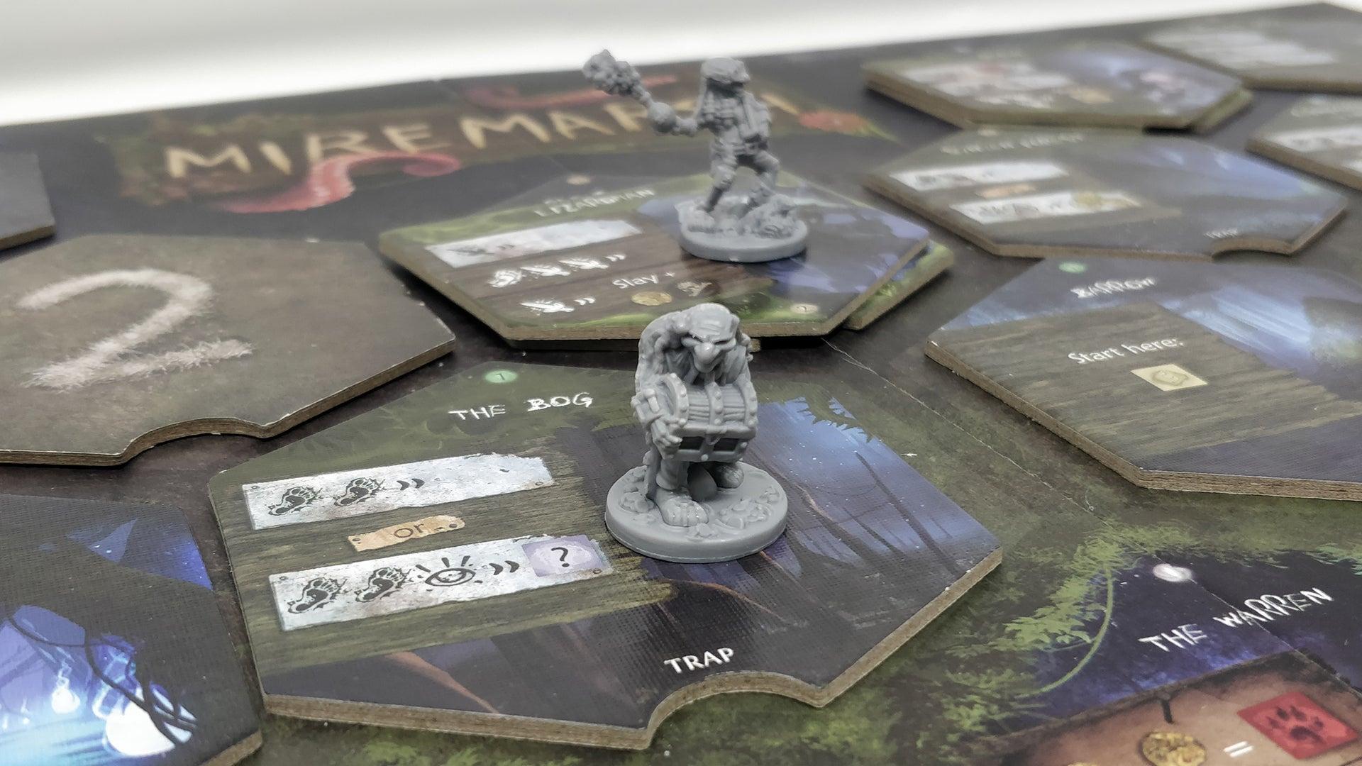 Miremarsh board game layout 1