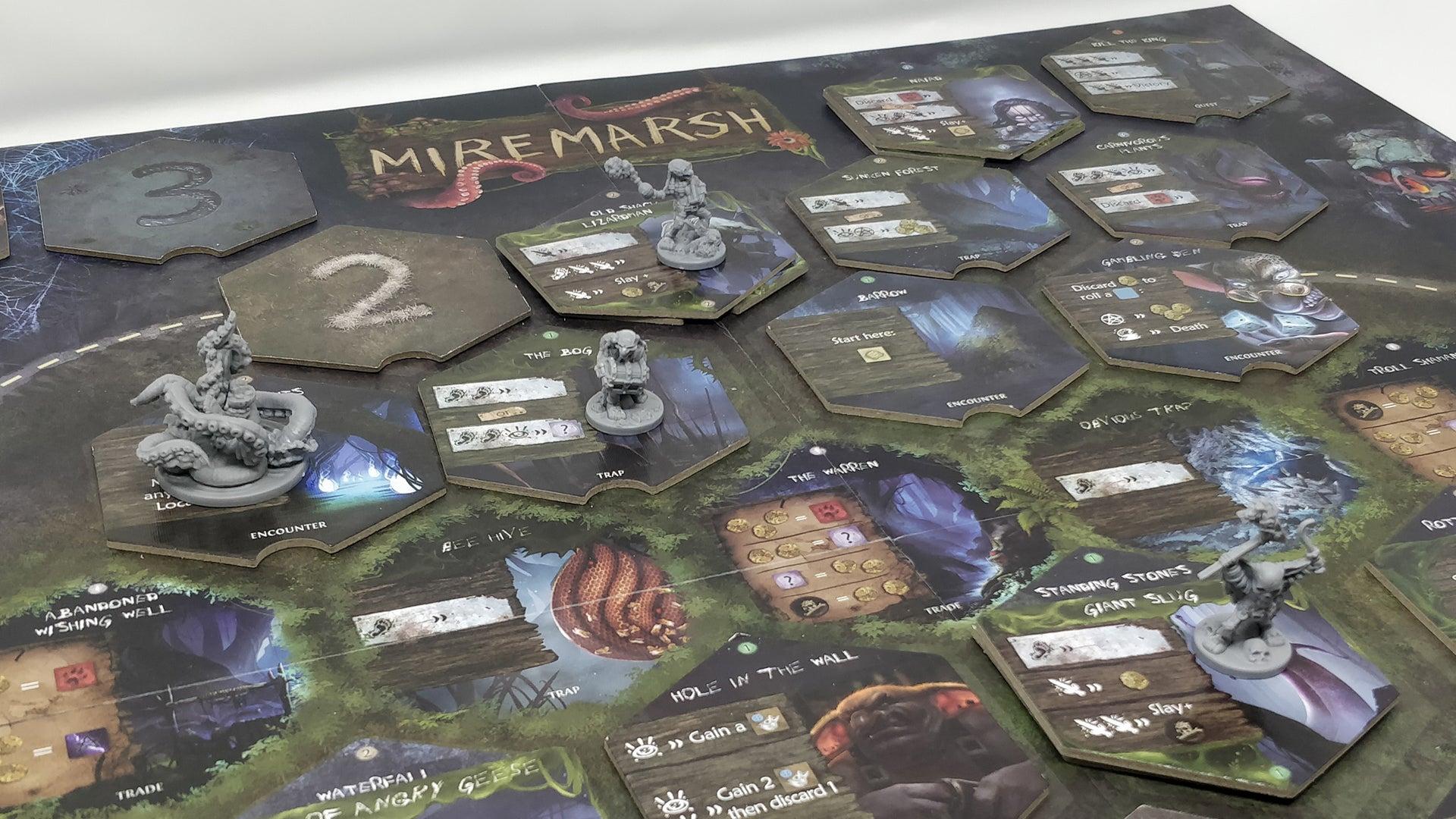 Miremarsh board game layout 2