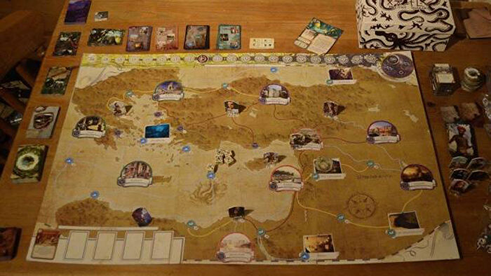 A modified board game