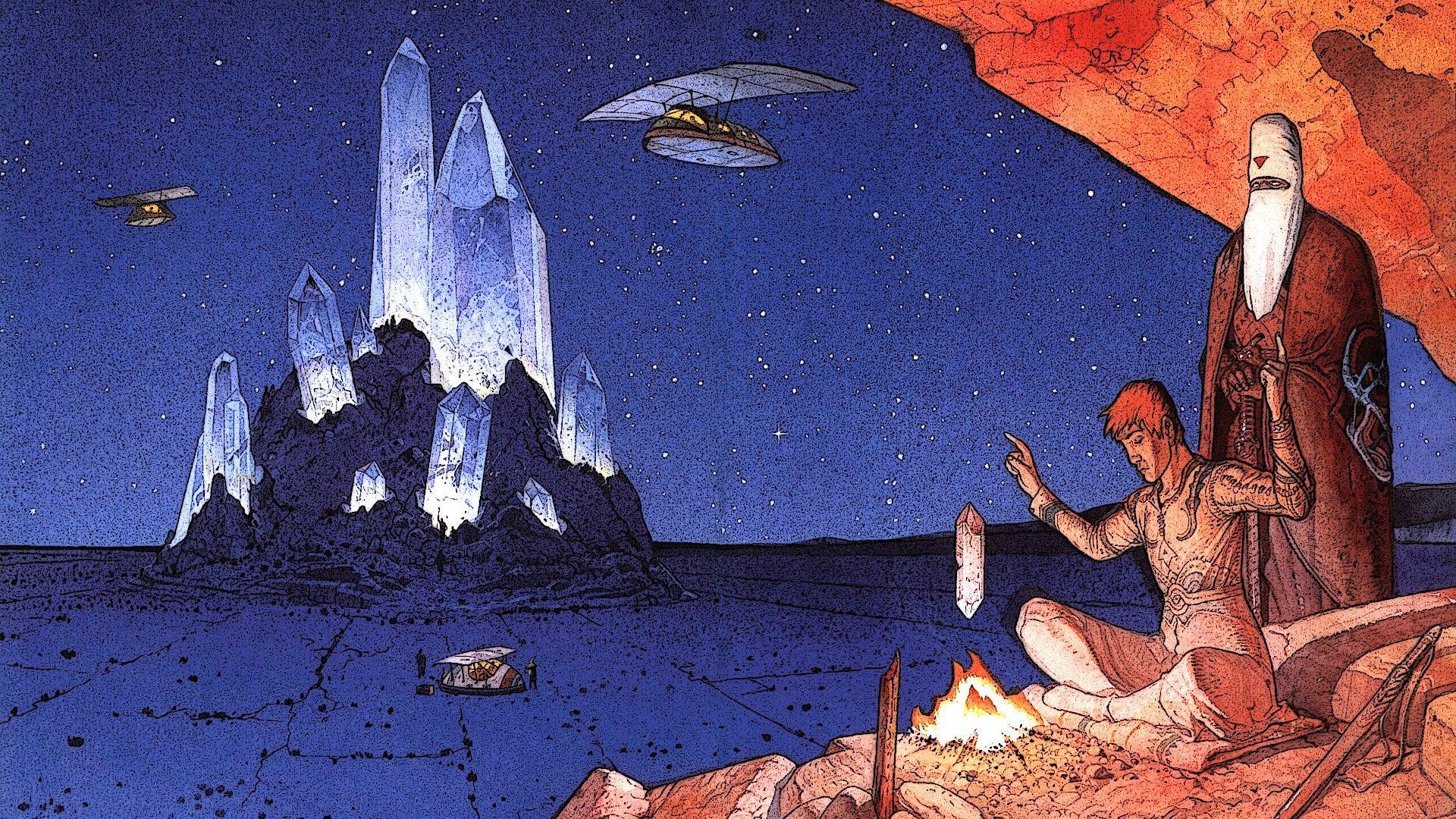 Moebius artwork