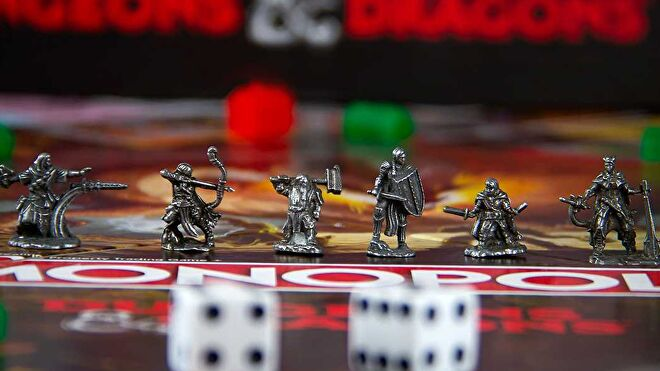 Monopoly: Dungeons & Dragons tokens