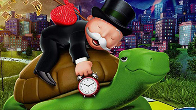 Monopoly: Longest Game Ever board game artwork