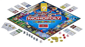 Monopoly: Super Mario Celebration Edition layout