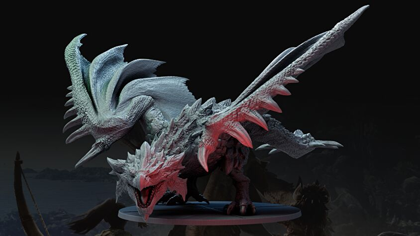 monster hunter world board game rathalos.png