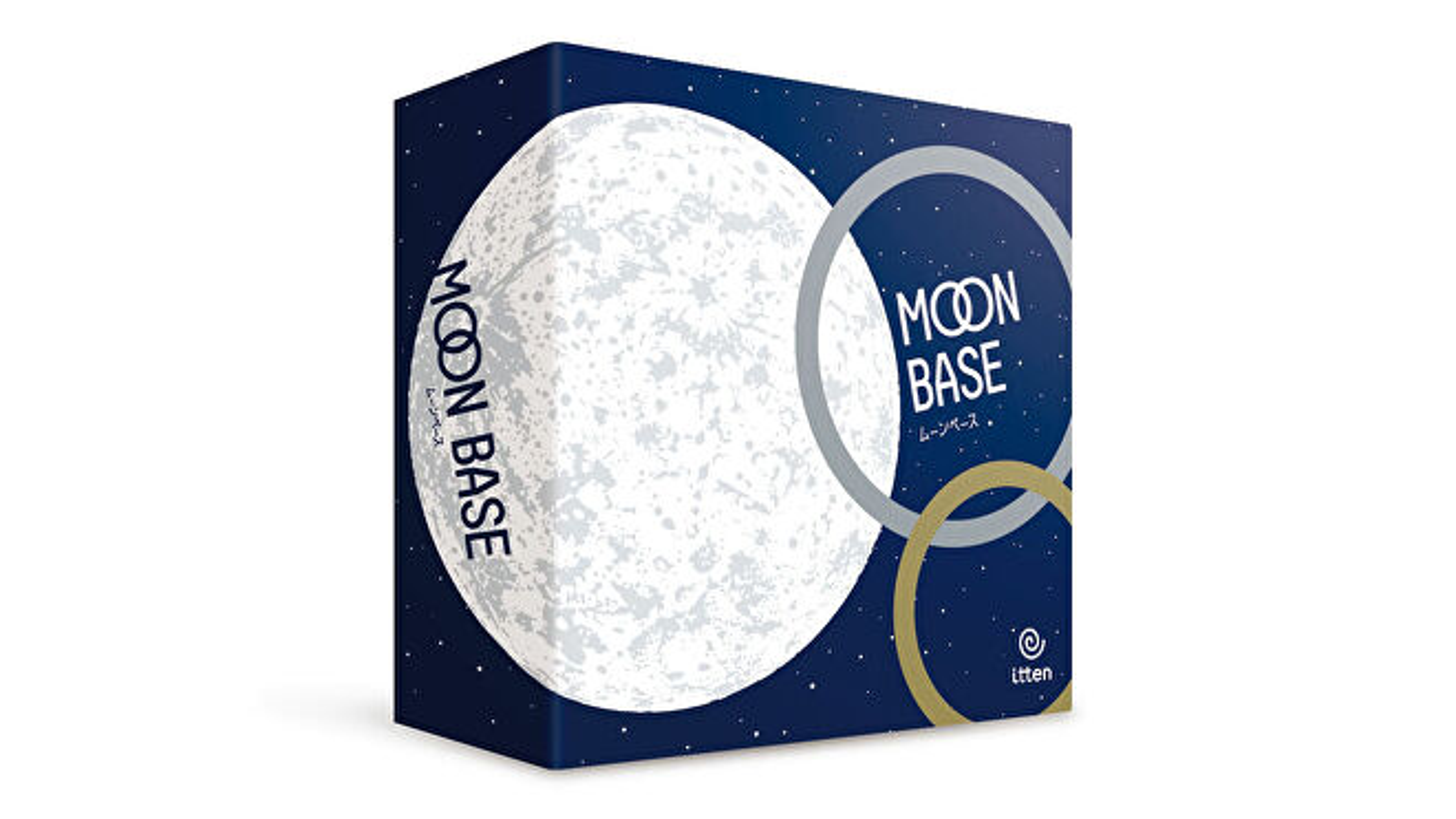 Photograph of the Moon Base box
