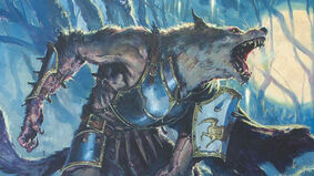 Moonrage Brute Magic: The Gathering card artwork from Innistrad: Midnight Hunt
