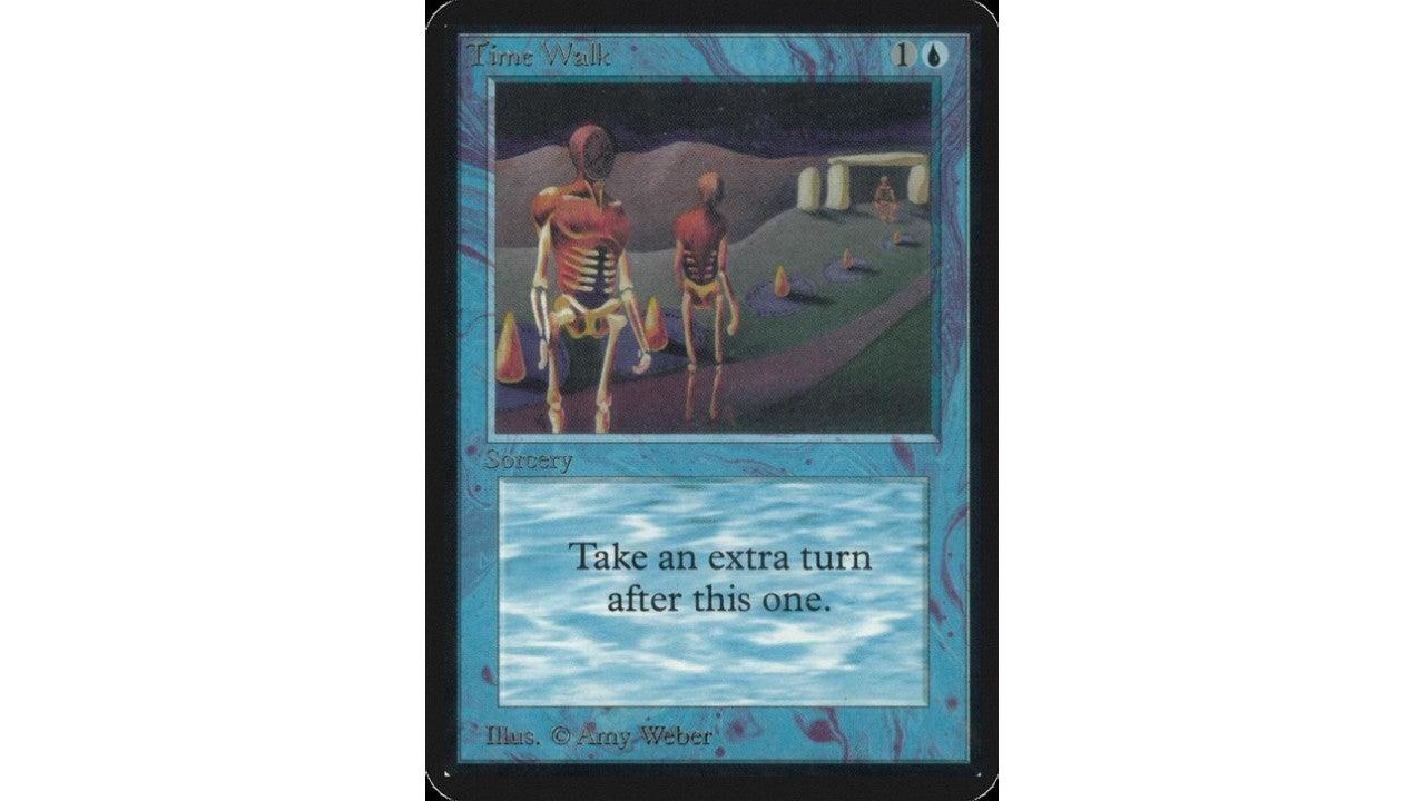 time walk alpha expensive mtg card
