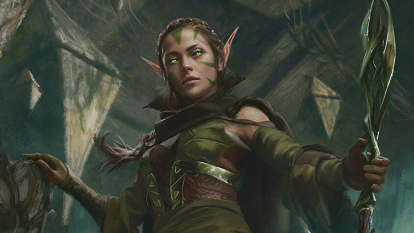 Nissa of Shadowed Boughs from Magic: The Gathering - Zendikar Rising